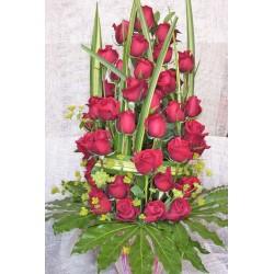 Centro de 30 rosas