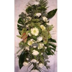 Palma mortuoria blanca